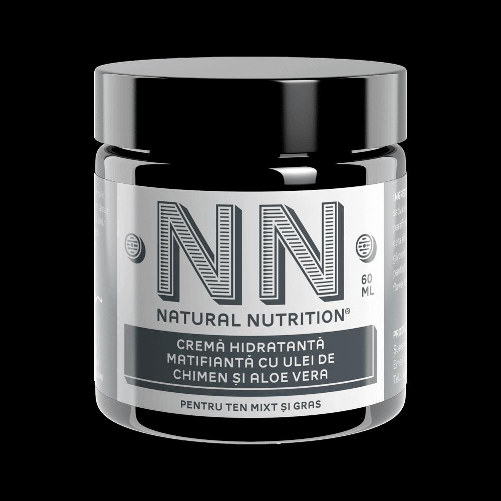 NN Cosmetics - Crema hidratanta matifianta cu ulei de chimen si aloe vera