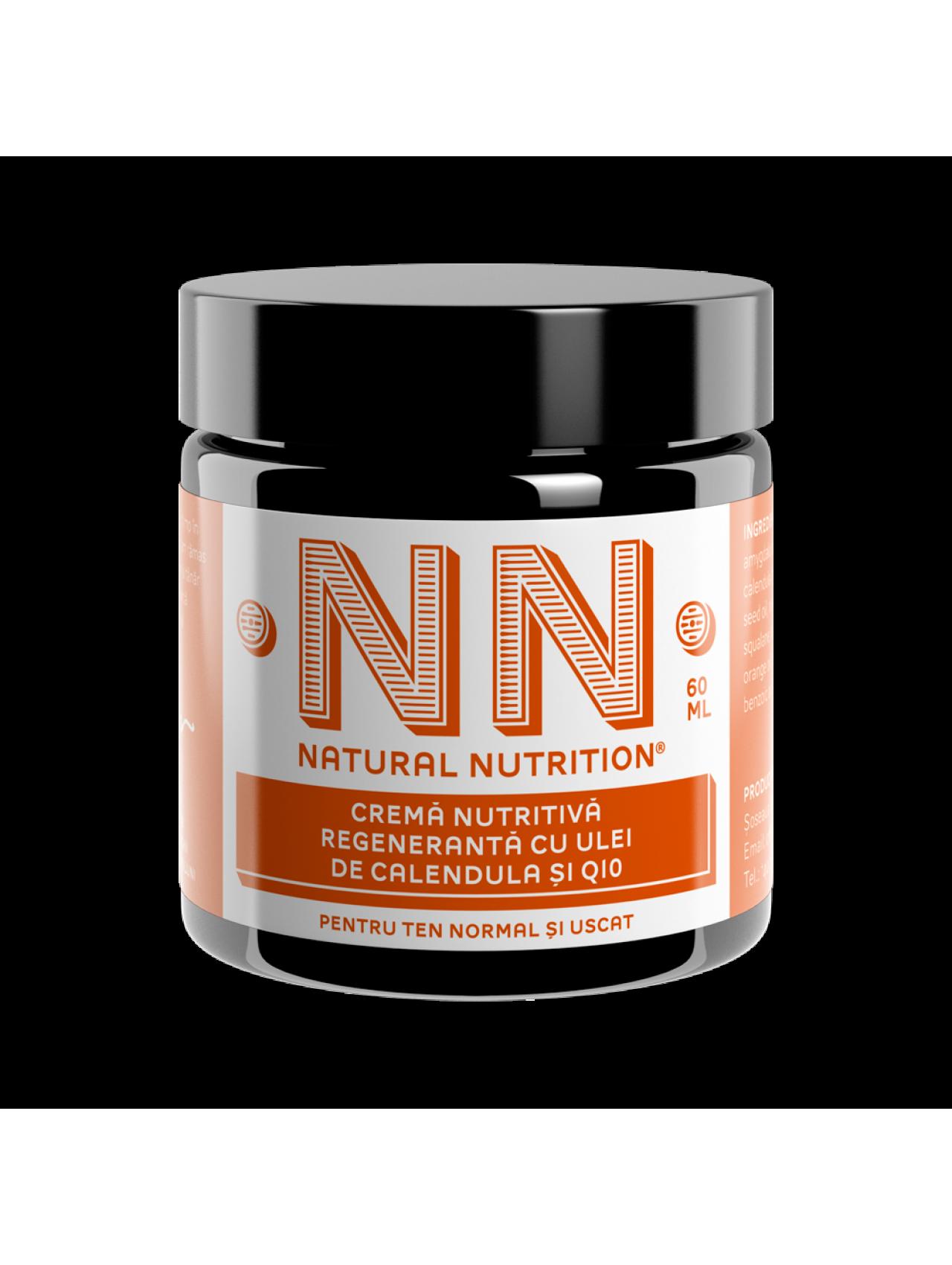 NN Cosmetics - Crema nutritiva regeneranta cu ulei de calendula si Q10