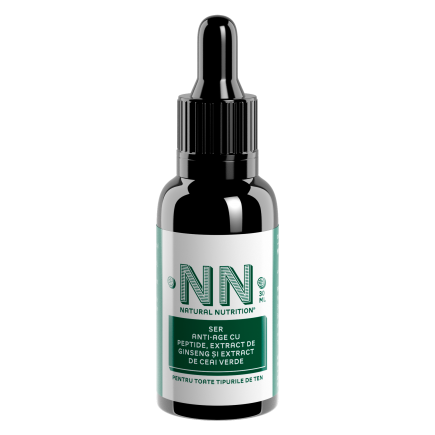 NN COSMETICS - Ser anti-age cu peptide, extract de ginseng si extract de ceai verde