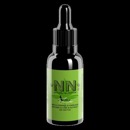 NN Cosmetics - Ser cu formula complexa antiage cu extract de cactus si CBD