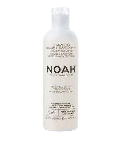 Noah - Sampon natural hidratant cu fenicul pentru par uscat, fragil si lipsit de stralucire