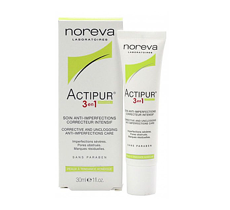 Noreva - Actipur anti imperfection care Crema antiacnee 3 in 1