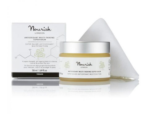 Nourish London - Antioxidant Multi-Tasking Super Balm Balsam anti-imbatranire