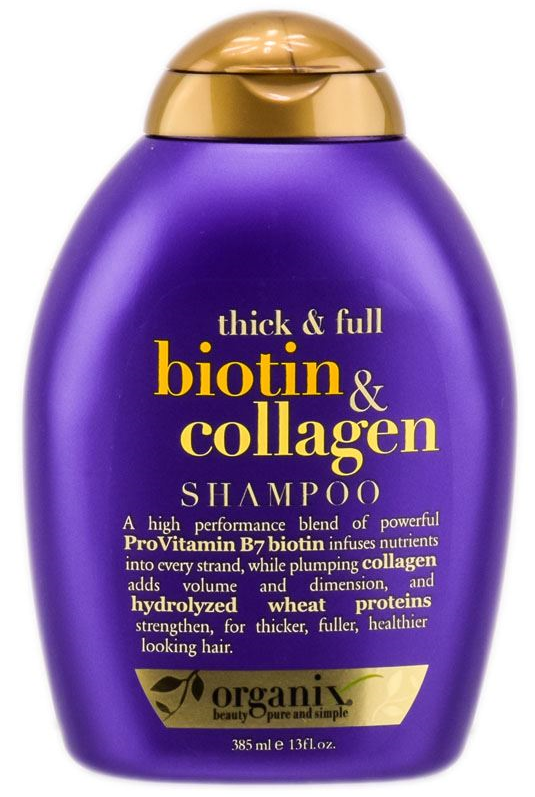 OGX - Thick And Full Biotin Collagen Sampon de par cu colagen