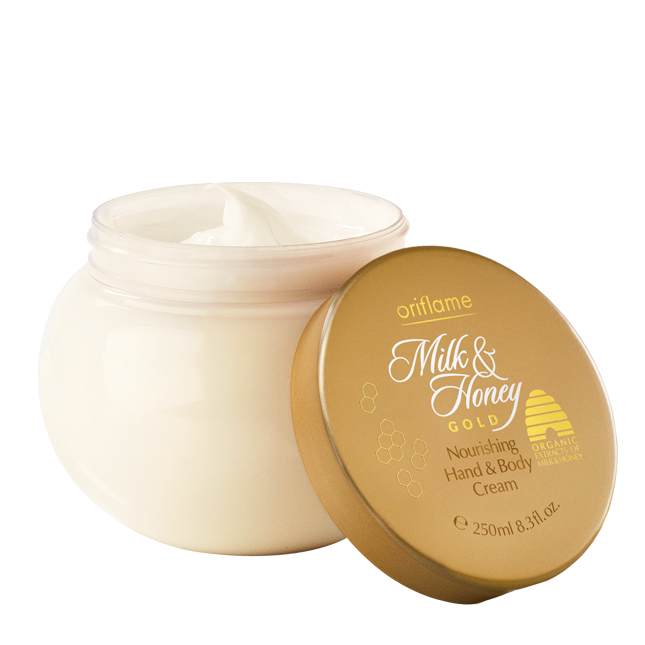 Oriflame - Milk & Honey Gold Crema hranitoare pentru maini si corp