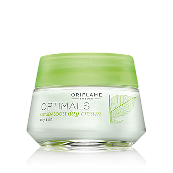 Oriflame - Optimals Oxygen Boost Crema de zi pentru ten gras