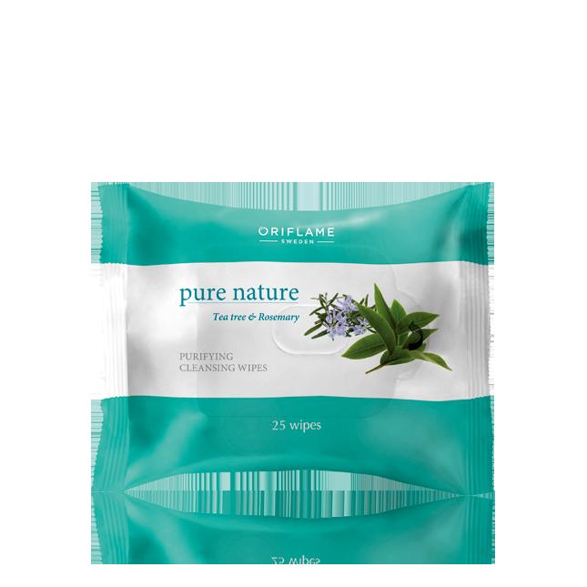 Oriflame - Pure Nature Organic Servetele demachiante