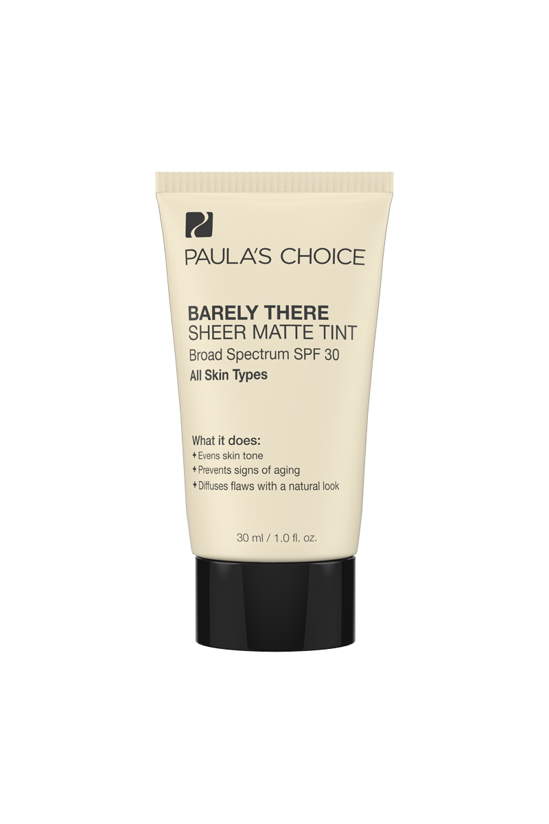 Paulas Choice - Barely There Sheer Matte Tint Fond de ten cu SPF 30
