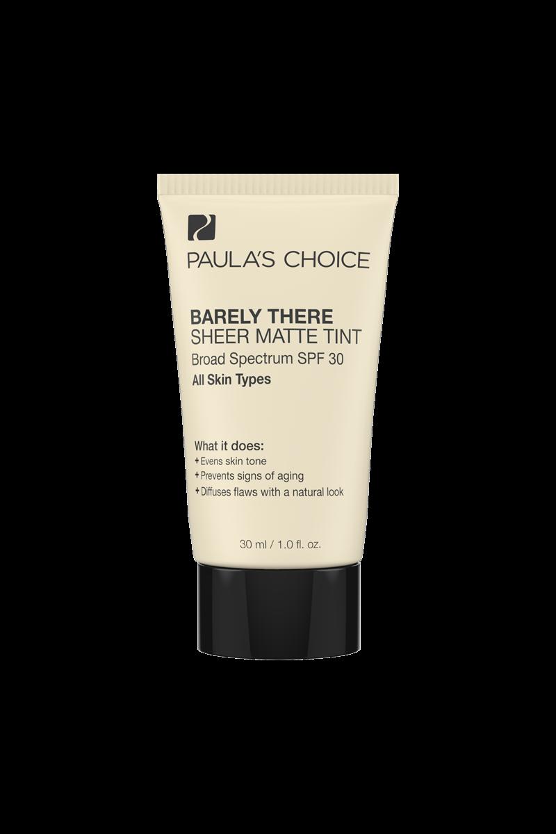 Paulas Choice - Barely There Sheer Matte Tint Fond de ten cu SPF 30