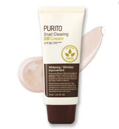 Purito - Snail Clearing BB Cream SPF 38