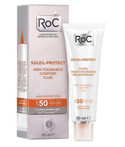 RoC - Soleil-Protect Fluid confort piele sensibila SPF 50 S