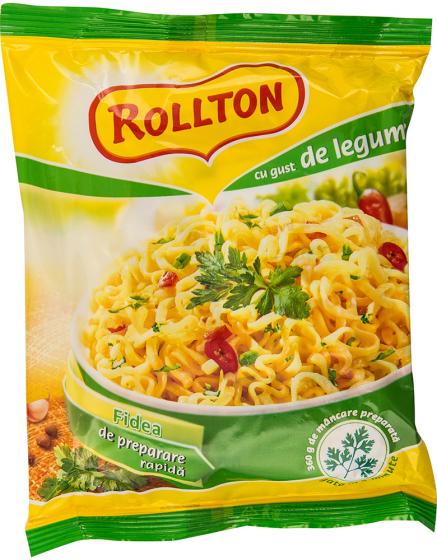 Rollton - Fidea de preparare rapida cu gust de legume