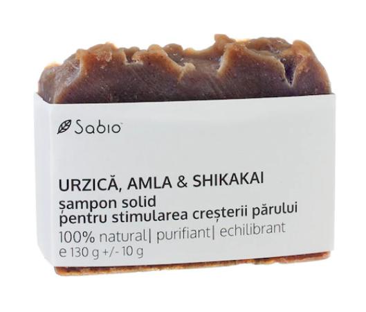 Sabio - Sampon solid cu urzica pentru stimularea cresterii parului
