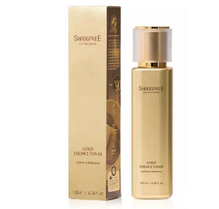 Shangpree - Gold Essence Lotiune tonica pentru hidratarea si reechilibrarea tenului