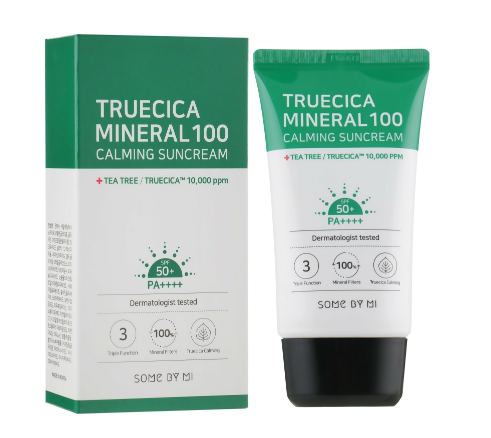 Some By Mi - Truecica Mineral 100 Calming Sun Cream SPF50+ PA++++