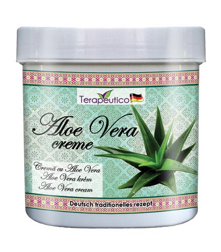 Terapeutico - Crema traditionala cu aloe vera pentru piele cu probleme