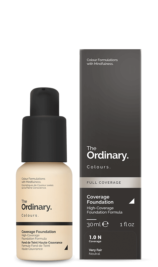 The Ordinary - Colours Fond de ten