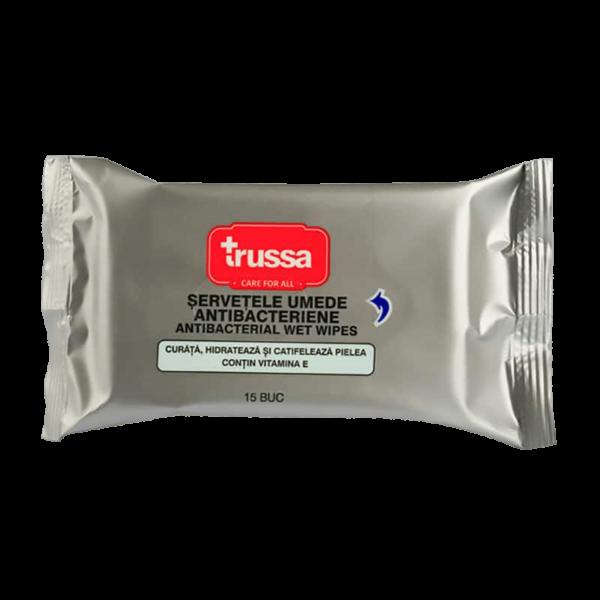 Trussa - Servetele umede antibacteriene