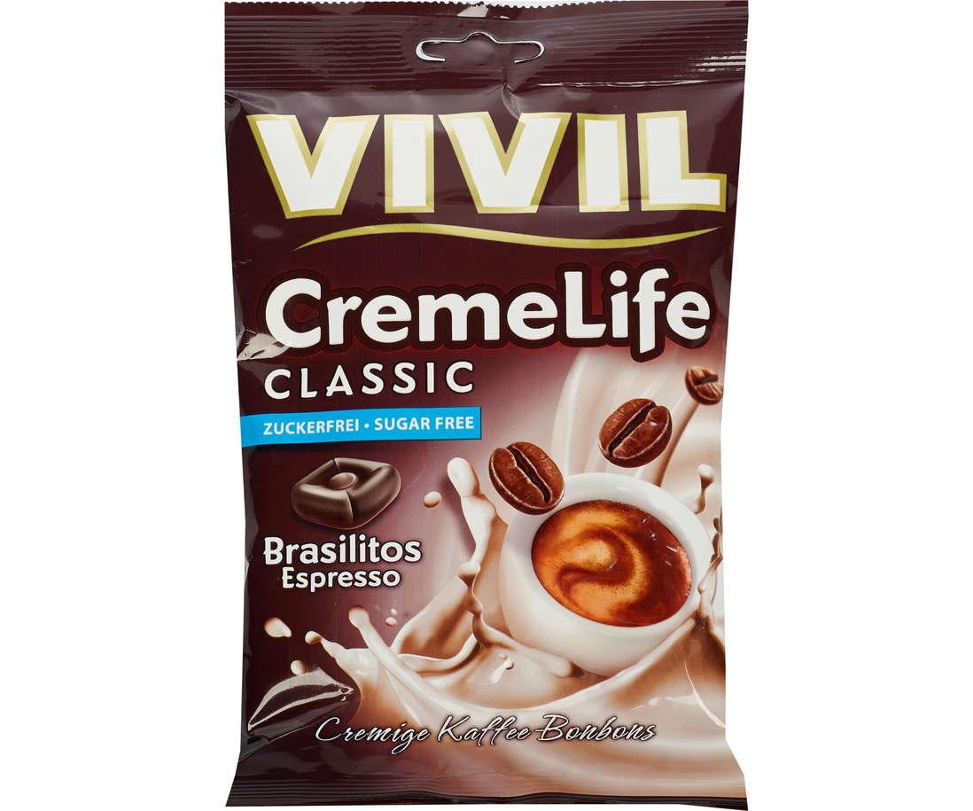 Vivil Classic - Bomboane cu aroma de cafea, fara zahar
