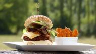 Burger vegan cu ciuperci. Reteta delicioasa