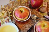 Reteta de mere coapte, un desert cu putine calorii