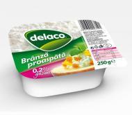 Delaco - Branza proaspata 2% grasime