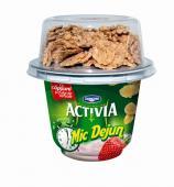 Activia - Mic Dejun cu capsuni si topping de cereale