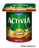 Activia - Iaurt cu musli din cereale integrale