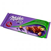 Kraft Foods - Milka Hazelnuts Alpine Milk Chocolate