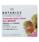 Boots - Botanics All Bright Crema hidratanta de noapte