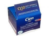 Cien - Crema antirid de noapte cu acid hialuronic, vitamina E si Q10