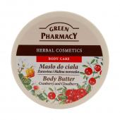 Green Pharmacy - Body Butter Cranberry and Cloudberry