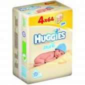 Huggies - Pure Servetele umede pentru bebelusi