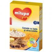 Milupa - Cereale cu lapte si Stracciatella