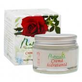 Naturalis - Crema hidratanta cu ulei esential de trandafir