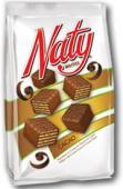 Naty classic - Napolitane cu crema si glazura de cacao