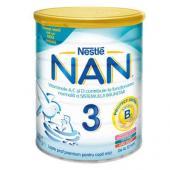 Nestle - NAN 3 Lapte premium pentru copii mici