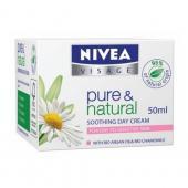 Nivea - Pure&Natural Crema hidraranta de zi pentru ten uscat sensibil bio