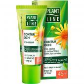 Plant Line - Crema contur pentru ochi cu extract de arnica 45+