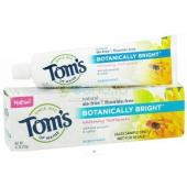 Toms Of Maine - Botanically Bright Pasta de dinti fara fluor