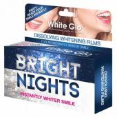 White Glo - Bright Nights Benzi de albire a dintilor